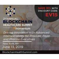 logo 2nd Annual Blockchain Healthcare Summit | June 13, 2019 | New York, NY