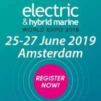 logo Electric and Hybrid Marine World Expo 2019, Amsterdam RAI, The Netherlands