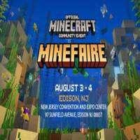 logo Minefaire: Official MINECRAFT Community Event (Edison, NJ) (Exhibition)