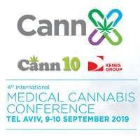 logo CannX 2019: 4th International Medical Cannabis Conference
