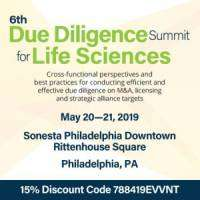 logo The 6th Due Diligence Summit for Life Sciences