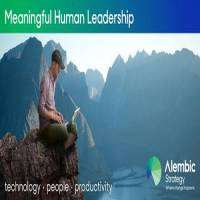 logo Meaningful Human Leadership 2019:Technology, People, Productivity in London