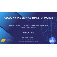 logo Cloud Native Service Transformation - Munich 2019