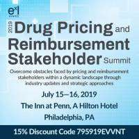 logo 2019 Drug Pricing and Reimbursement Stakeholder Summit