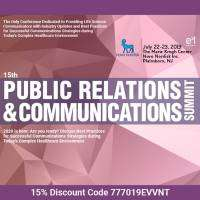 logo 15th Public Relations and Communications Summit