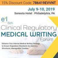 logo 6th Clinical Regulatory Medical Writing Forum