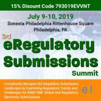 logo 3rd eRegulatory Submissions Summit