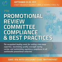 7th Promotional Review Committee Compliance and Best Practices cover