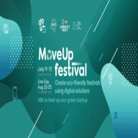 logo MoveUp Festival * Startup Bootcamp @Dour Festival * 11-13 July
