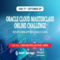 logo Oracle Cloud Masterclass Online Challenge