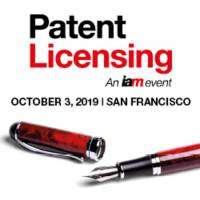logo Patent Licensing, 3 October 2019, San Francisco