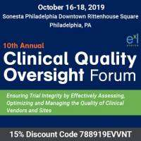 logo 10th Clinical Quality Oversight Forum