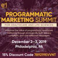 logo Programmatic Marketing Summit for Healthcare and Life Sciences