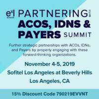 logo Partnering with ACOs, IDNs, and Payer Summit
