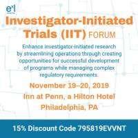 logo Investigator-Initiated Trials (IIT) Forum