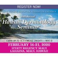 logo Skin Disease Education Foundation 44th Annual Hawaii Dermatology Seminar
