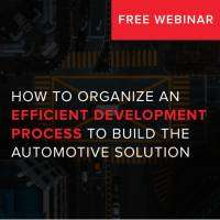 logo How to organize efficient development process to build automotive solution
