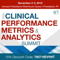 logo 16th Clinical Performance Metrics and Analytics Summit