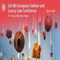 logo 3rd IBA European Fashion and Luxury Law Conference