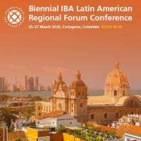 logo Biennial IBA Latin American Regional Forum Conference - March 2020
