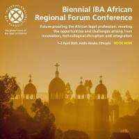 logo Biennial IBA African Regional Forum Conference - April 2020, Addis Ababa