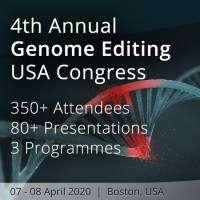 logo 4th Annual Genome Editing USA Congress