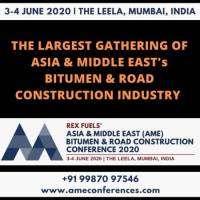 logo AME Bitumen And Road Construction Conference 2020, 3-4 June 2020, Mumbai