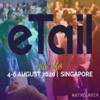 logo eTail Asia Conference in Singapore August 2020