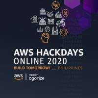 logo AWS Hackdays Online Build Tomorrow! - Philippines