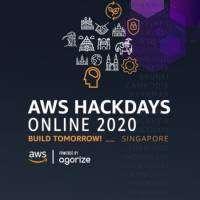 logo AWS Hackdays Online Build Tomorrow! - Singapore