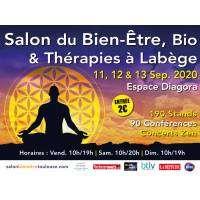 logo Salon du Bien Etre, Bio & Thérapies Toulouse Labège