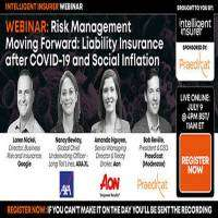 logo Risk Management Moving Forward: Liability Insurance after COVID-19 and Social Inflation