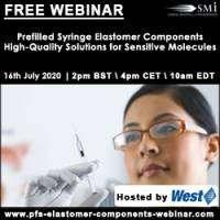 logo Prefilled Syringe Elastomer Components - High-quality Solutions for Sensitive Molecules
