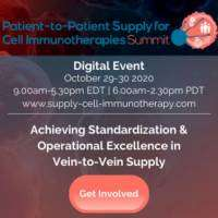 logo Patient-to-Patient Supply for Cell Immunotherapies Summit
