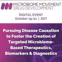 logo Microbiome Movement Drug Development Summit - Digital Event