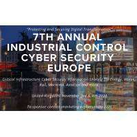 logo Industrial Control Cyber Security Europe, annual Conference with Cyber Senate