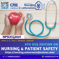 logo 9th UCG edition on Nursing and Patient Safety Conference
