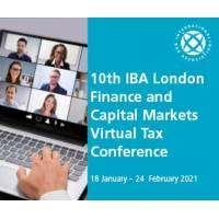 logo 10th IBA London Finance and Capital Markets Virtual Tax Conference