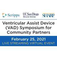 logo Ventricular Assist Device (VAD) CME Symposium for Community Partners