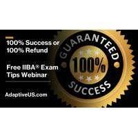 logo Free Live Online IIBA Exam Tip Training - 100% Success or 100% Refund - USA, Canada, Europe, Africa