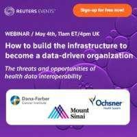 logo WEBINAR: Build infrastructure for a data-driven healthcare organization