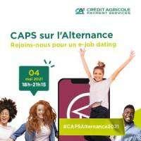 logo Caps on work-study